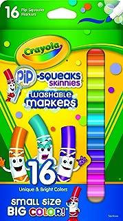 Crayola 58 8703 16 Pip-Squeaks Markers