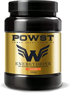 Bebida Energética en polvo pre entreno. suplemento