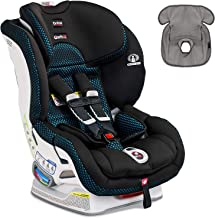 Britax Boulevard ClickTight Convertible Car Seat with Free Waterproof Seat Liner (Cool Flow - Teal)