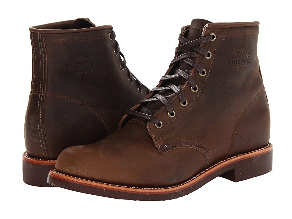 1940s Mens Clothing Chippewa Service Boot Crazy Horse Mens Boots $290.00 AT vintagedancer.com