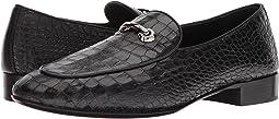 Giuseppe Zanotti - Cut Stamped Croc Loafer