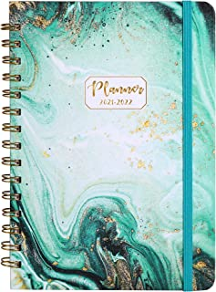 """2020-2021 Planner - Weekly & Monthly Academic Planner with Hardcover, Jul 2020-Jun 2021, 6.4"""" x 8.5"""", Strong Binding, Tab..."""