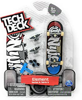 Tech Deck ELEMENT Skateboards Series 6 Nyjah Huston Ultra Rare Fingerboard with Extra Trucks