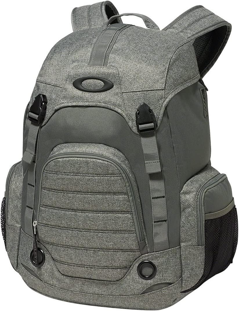 Oakley Men's Overdrive Backpack,One Size,Grigio Scuro