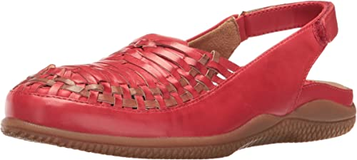 SoftWalk damen& 039;s Harper Huarache Sandal, rot Tan, 6.5 N US