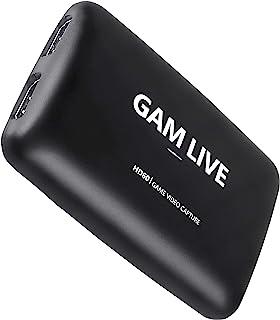 Sponsored Ad - UCEC Game Live, USB 3.0 Game Capture Card, 1080P 60FPS or 4K at 30 FPS HDMI Capture for Live Streaming, Gam...