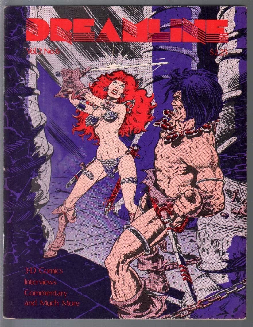 Philadelphia Great interest Mall Dreamline 3 1982-Red Sonja-Tony Ward-Joel Staton-F Frutti-Murray