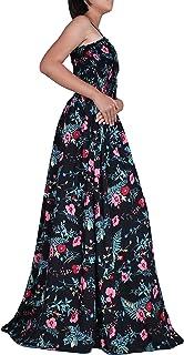 فستان ماكسي للنساء مقاس إضافي الصيف شاطئ حزب الأزهار كاجوال بوهو