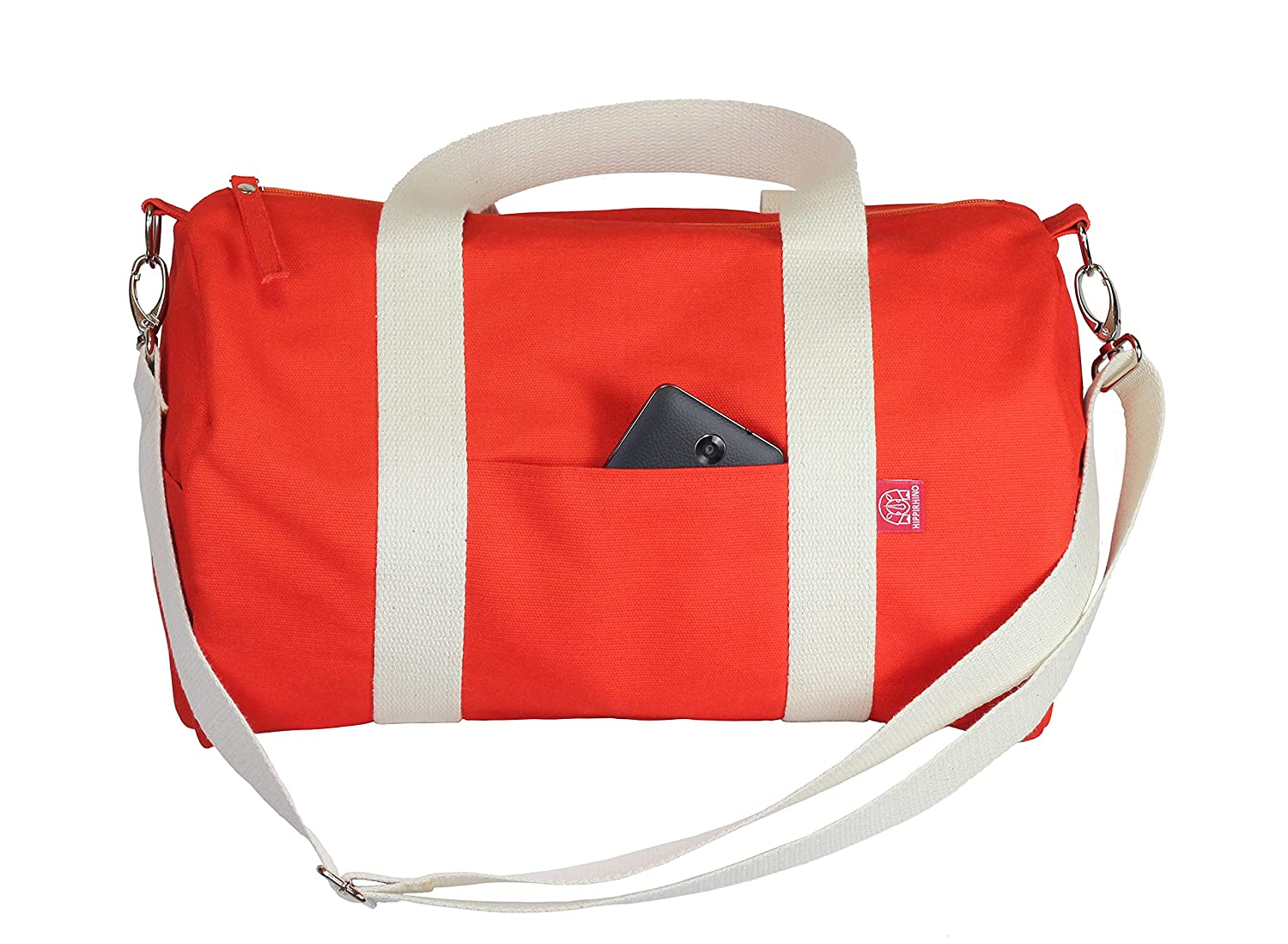 Orange Duffel Bag Full Lined Long St Cheap sale Washable and Adjustable Challenge the lowest price of Japan ☆