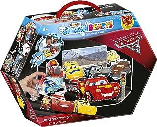 CRAZE fusibles Pixar Splash BEADYS Cars 3 Création Set Perles Artisanales Fuse pour Enfants 59419, Multicolore