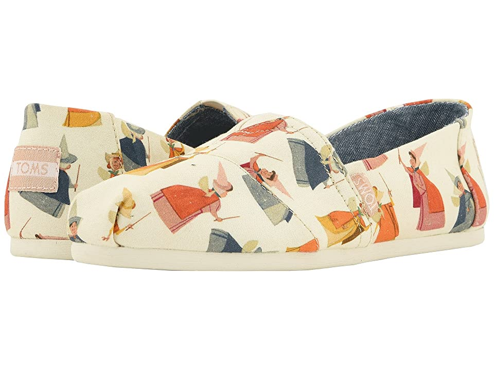 TOMS Disney(r) Alpargata (Natural Fairy Godmother Printed Canvas) Women