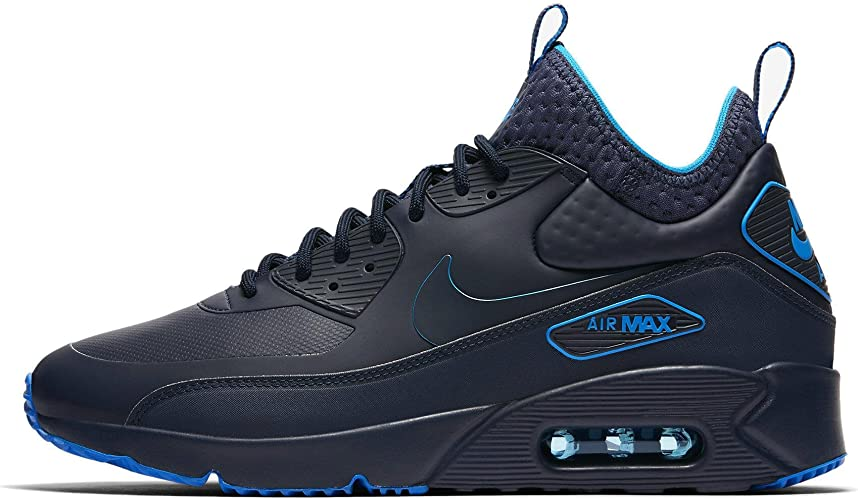 Nike, Uomo, Air Max 90 Ultra Mid Winter, Tessuto Tecnico, Sneakers ...