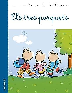 Els tres porquets (Un conte a la butxaca) (Catalan Edition)