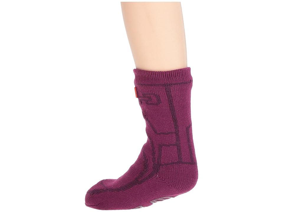 Hunter Kids Original Boot Slipper Socks (Toddler/Little Kid/Big Kid) (Violet) Kids Shoes, Purple