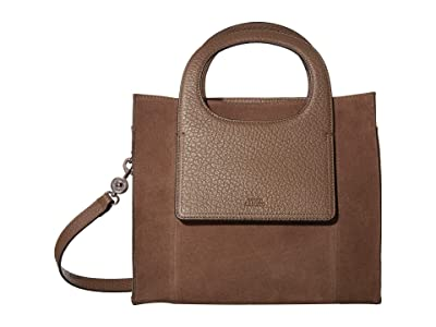 Vince Camuto Beck Small Tote (Dark Tuscan Taupe) Handbags