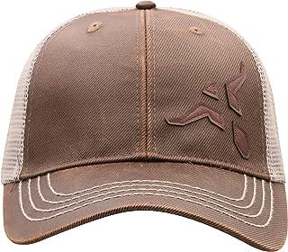 Wrangler Brown/Tan Bull Horn Adjustable Snapback Hat