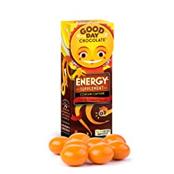 Good Day Chocolate Energy Supplement with Caffeine (1 Pack)