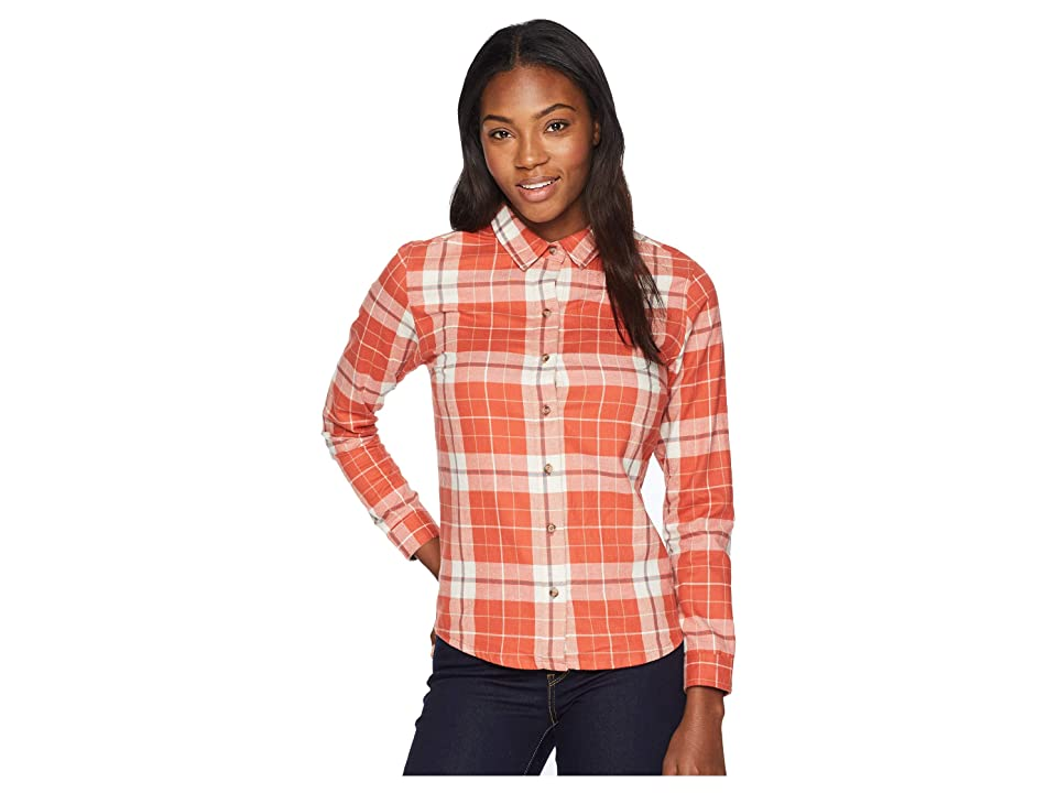 Toad&Co Lightfoot Long Sleeve Shirt (Hot Sauce) Women
