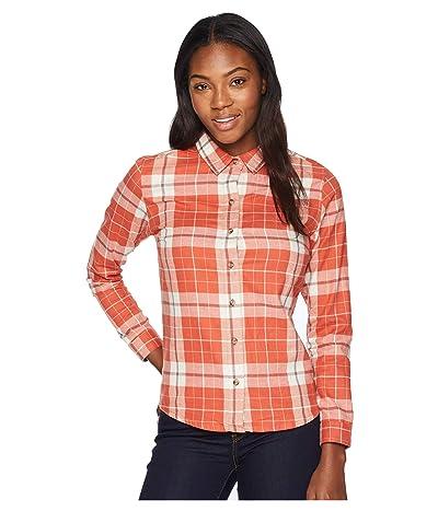 Toad&Co Lightfoot Long Sleeve Shirt (Hot Sauce) Women