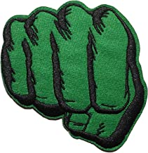 The Hulk Fist 3 Inches Tall Embroidered Iron on Patch