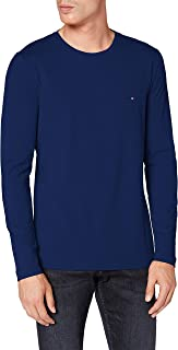 Tommy Hilfiger Stretch Slim Fit Long Sleeve tee Camisa para Hombre
