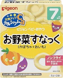贝亲 元气提升Ca 蔬菜熟悉(南瓜+美味)5g×2袋×6盒