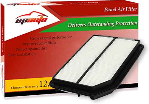 discount EPAuto popular GP015 (CA10015) Replacement for Honda Rigid outlet sale Panel Engine Air Filter for Ridgeline (2006-2014) outlet sale