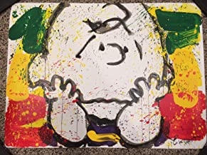 TOM EVERHART signed CALL WAITING Charles Schulz Peanuts COA Charlie Brown Snoopy