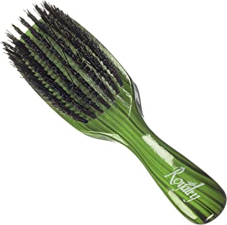 Royalty By Brush King Wave Brush #729-7 row Medium Hard Brush - Great 360 wave brush for wolfing
