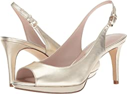 Nine West Gabrielle Slingback Peep Toe Pump