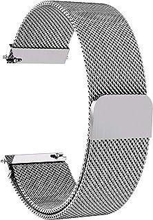 17a646d0f3 Fullmosa 6 Colores para Correa de Reloj, Piel Correa Huawei Samsung Correa/ Banda/