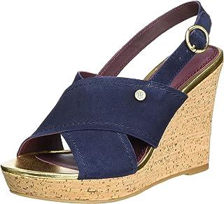 : Tommy Hilfiger Bleu Sandales Chaussures
