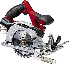 Einhell 4331200 Sierra circular (4,200 min-1, no incluye batería, Power-X-Change), 0 W, 18 V, Negro, Gris, Rojo