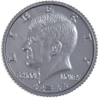 Learning Advantage, Play Half-Dollar Plastic Coins - Set of 50