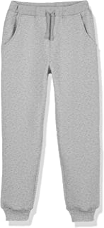 Kid Naton Kids Soft Faux Sherpa Sweatpants with Pockets for Boys or Girls,Age(4-12Years)