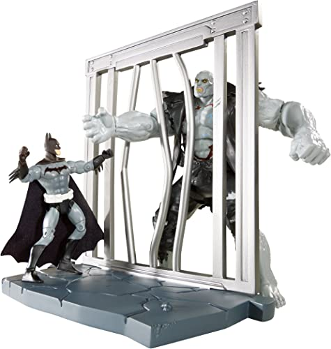 DC Comics Multiverse 4-Inch Year One Skin Batman and Solomon Gründy Figure 2-Pack