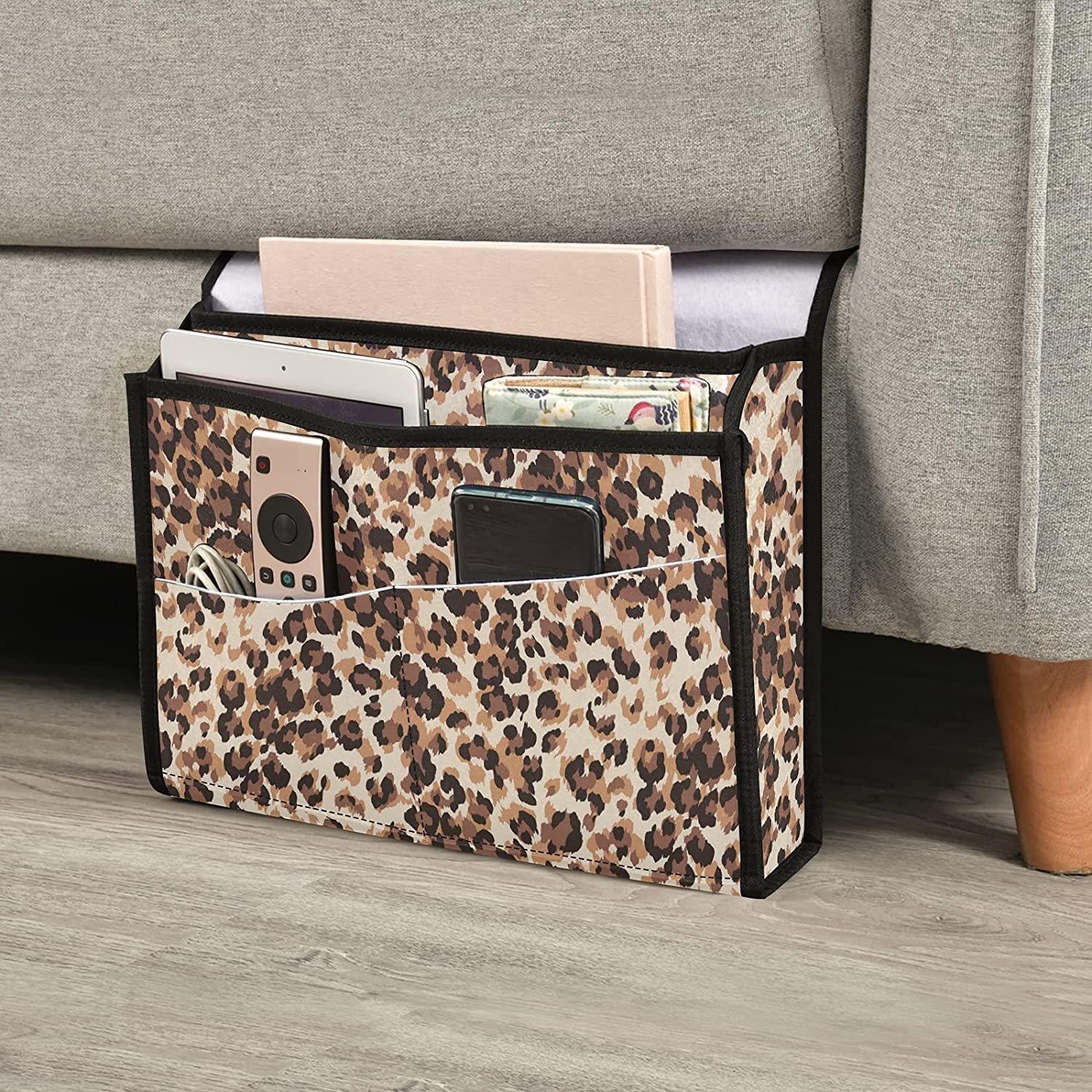 Emelivor Leopard Bedside Caddy Hanging Storage Ranking TOP4 Today's only Organizer