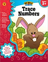 Carson Dellosa | Trace Numbers Workbook | Preschool–2nd Grade, 32pgs (Big Skills for Little Hands®) PDF