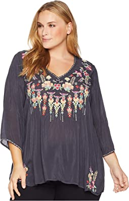 Plus Size Nixie Blouse
