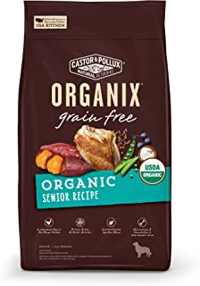 Castor & Pollux Organix Grain Free Organic Senior Recipe Dry Dog Food