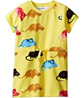 mini rodini - Mouse Sweat Dress (Toddler/Little Kids/Big Kids)