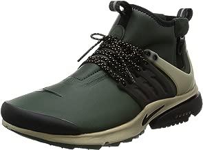Nike Air Presto Mid Utility Mens Hi Top Trainers 859524 Sneakers Shoes (US 8, Green Black Khaki 300)