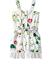 Oscar de la Renta Childrenswear - Floral Romper (Toddler/Little Kids/Big Kids)