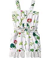 Oscar de la Renta Childrenswear - Floral Romper (Toddler/Little Kids/Big Kids)
