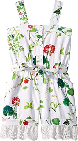 Floral Romper (Toddler/Little Kids/Big Kids)