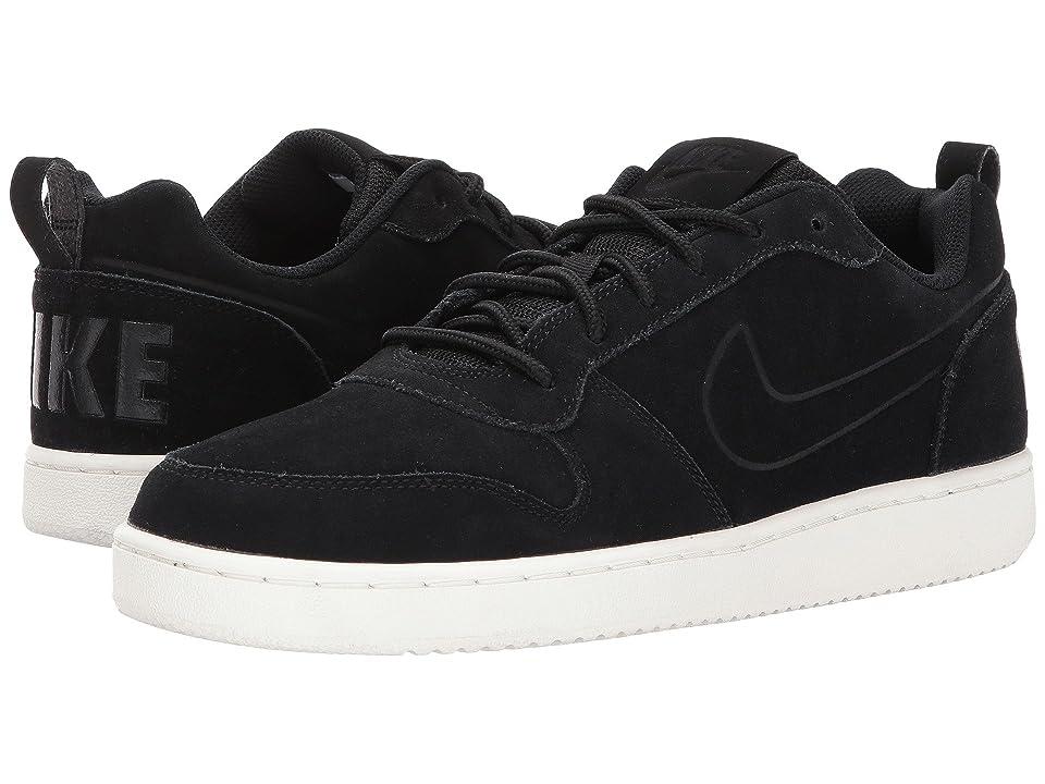 Nike Court Borough Low Premium (Black/Black/Sail) Men