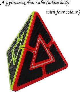 Aŭtuno Cubes, a pyraminx Duo Cube, The Solid core Structure, Triangle Puzzles, Puzzles (White)