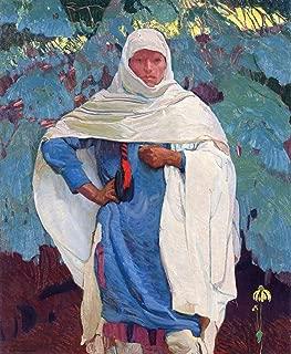 Ernest Leonard Blumenschein White Blanket and Blue Spruce 1919 Private Collection 30