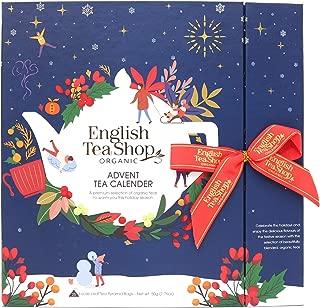 English Tea Shop Advent Tea Calendar Blue 25 Teabags