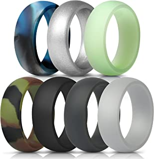 Best glow in the dark silicone rings Reviews